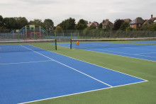 Changes to tennis court bookings – St Mary's Park
