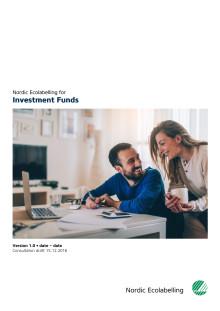 Høringsforslag: Svanemerkets krav til investeringsfond