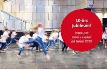 Dans i skolan på turné – 10-årsjubileum