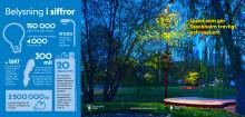 160310 Trafikkontorets broschyr Ljuset som gör Stockholm trevligt och vackert