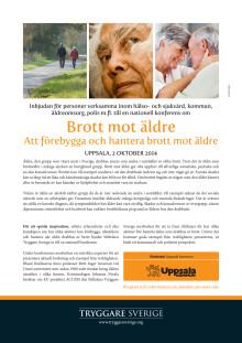 Inbjudan till nationell konferens om att förebygga och hantera brott mot äldre