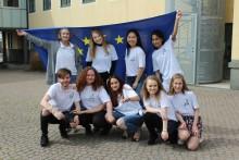 Riksdagens Tina Acketoft besöker Olympiaskolan