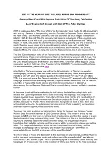 Sire Records press release