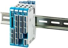 Ultra kompakt slice I/O-system sparer tid, omkostninger og vedligehold i maskindesigns.