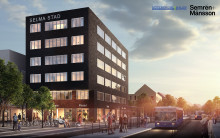 Veidekke bygger handelshus i Selma stad