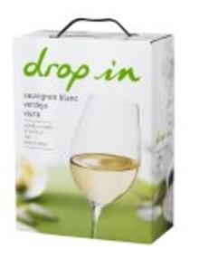 Ny spännande årgång av vinet Drop In,  en blandning av Sauvignon Blanc, Verdejo och Viura.