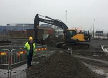 I december öppnar APM Terminals ny mottagningspark med automatiserad port