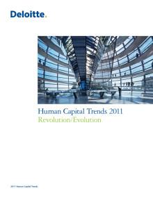 Human Capital Trends 2011