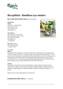 Recept by Roy Fares