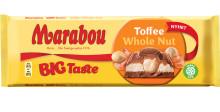 Hasselnötter och Toffeekräm fyller Marabous nya stora chokladkaka