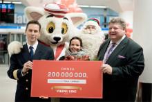 Viking Line firar sin 200.000.000 resenär