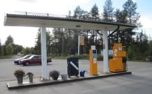 Preem avvecklar automatstation i Pajala