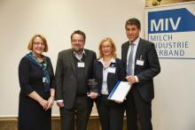 MIV zeichnet Agrarwissenschaftlerin aus –  Verleihung Milch-Wissenschaftlicher Innovationspreis 2017  an Frau Prof. Nieberg
