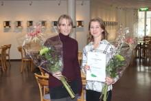 Kulturstipendiater tackades med stipendier och diplom
