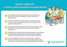 Lapsen ylipaino neuvolassa ja kouluterveydenhuollossa