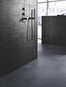 Trendigt och modernt med CleanLines inkaklade golvbrunn