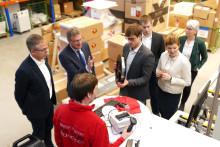 VisiConsult in Stockelsdorf empfängt Bürgermeisterin Samtleben und Minister Dr. Buchholz