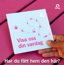 Största resvaneundersökningen någonsin i Skåne