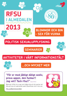 RFSU i Almedalen 2013