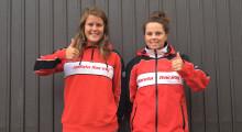 Natalie Kane och Frida Östlund klara för Team Honda MX Sweden!