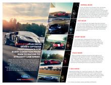 Ford GT byder på fem Drive Modes