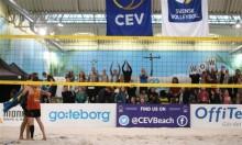 Europatävling i beachvolley för andra gången i Göteborg
