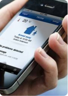 Ny mobil-app kan styra hemlarmet - och meddela dig när barnen kommer hem