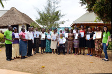 26 MyChild System users have been certified in Mukono District