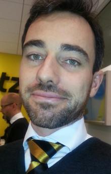Guillaume Caussignac ny chef för Hertz Arlanda