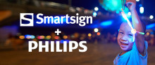 Smartsign supports Philips Professional displays with Android