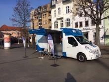 Beratungsmobil der Unabhängigen Patientenberatung kommt am 11. April nach Cottbus.