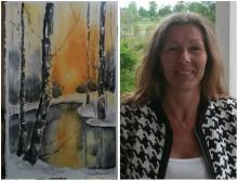 Jaana Olsson - en av utställarna på Vinterspår