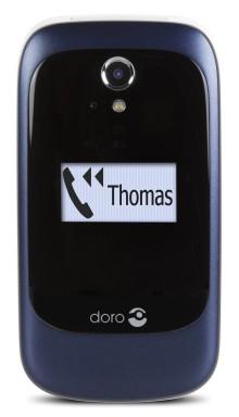 Ny serie vikbara mobiler från Doro gör det enkelt för seniorer att koppla upp sig