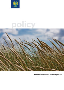 Riksidrottsförbundets klimatpolicy
