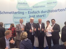 Startschuss für erfolgreiche Zusammenarbeit von Schmetterling mit novasol