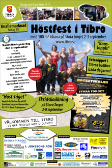 Programblad - höstfesten 2-3 september