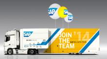 SAP tuo Big Data -rekka-autokiertueen Suomeen
