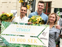 Ophena vinnare av Best Pitch i Venture Launch 2018