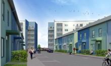 100 nya bostäder i kvarteret Katthult knyter ihop Gyllins trädgård