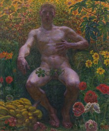 New acquisition: Adam in Paradise by Kristian Zahrtmann
