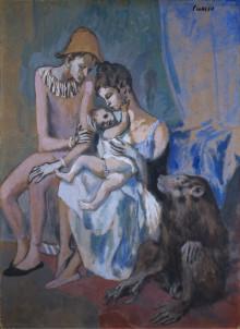 Pressvisning: Närstudie av Akrobatfamilj - Perspektiv på Picasso