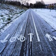 Elcykel på vintern - inga problem!