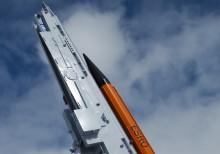 Raketinvigning på Rymdcampus i Kiruna