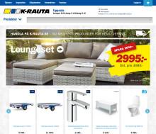K-rauta tar sin hemsida och e-handel till en ny nivå
