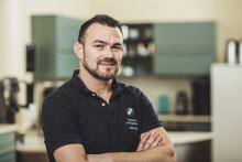 Simo Kristidhi ble Norgesmester i kaffebrenning
