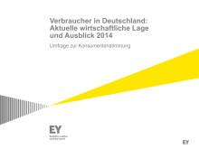 """""""Verbraucher in Deutschland: Aktuelle wirtschaftliche Lage und Ausblick 2014"""""""