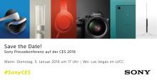 Sony Pressekonferenz auf der CES 2016