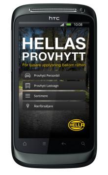 Hellas extraljus-app för Android är nu klar!