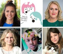 Almedalen: Saftmingel med raka frågor till barnminister Lena Hallengren (S)
