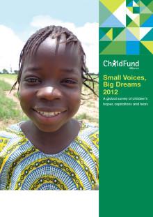 Global undersökning om barns drömmar, förhoppningar och rädslor